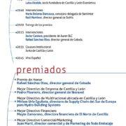 VI Premios Castilla y León Económica al Mejor Directivo el próximo 25 de abril en la Feria de Valladolid