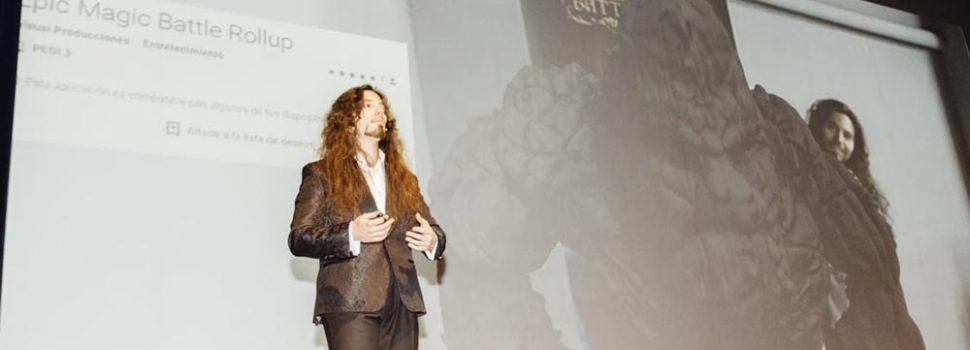 Más de 600 personas en la presentación de Epic Magic Battle, una experiencia de ocio tecnológico