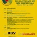 Castilla y León Económica y DKV Seguros organizan la jornada «Empresas saludables: sus claves para ser más competitivas»