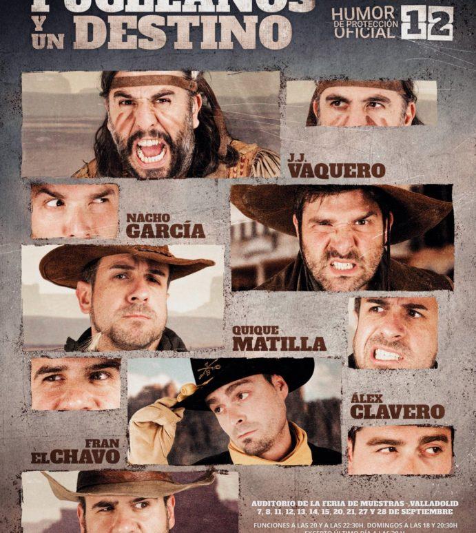 Humor de Protección Oficial 12 en la Feria de Valladolid: Cinco Pucelanos y un destino