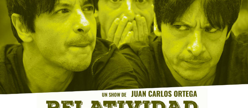 El show «Relatividad General» del cómico Juan Carlos Ortega llega a Feria de Valladolid