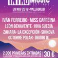 Intro Music Festival 2019, música en vivo en pleno otoño en Feria de Valladolid