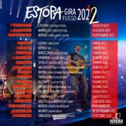 Estopa aplaza su «Gira Fuego» a 2022