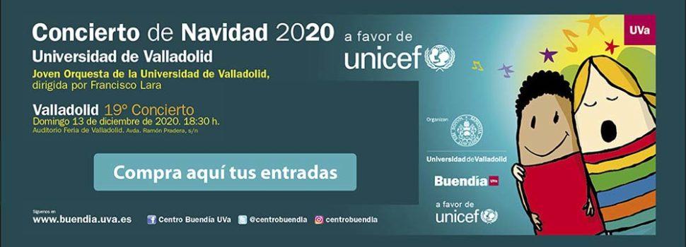 Concierto de Navidad a favor de UNICEF a cargo de la Joven Orquesta de la Universidad de Valladolid en la Feria de Valladolid