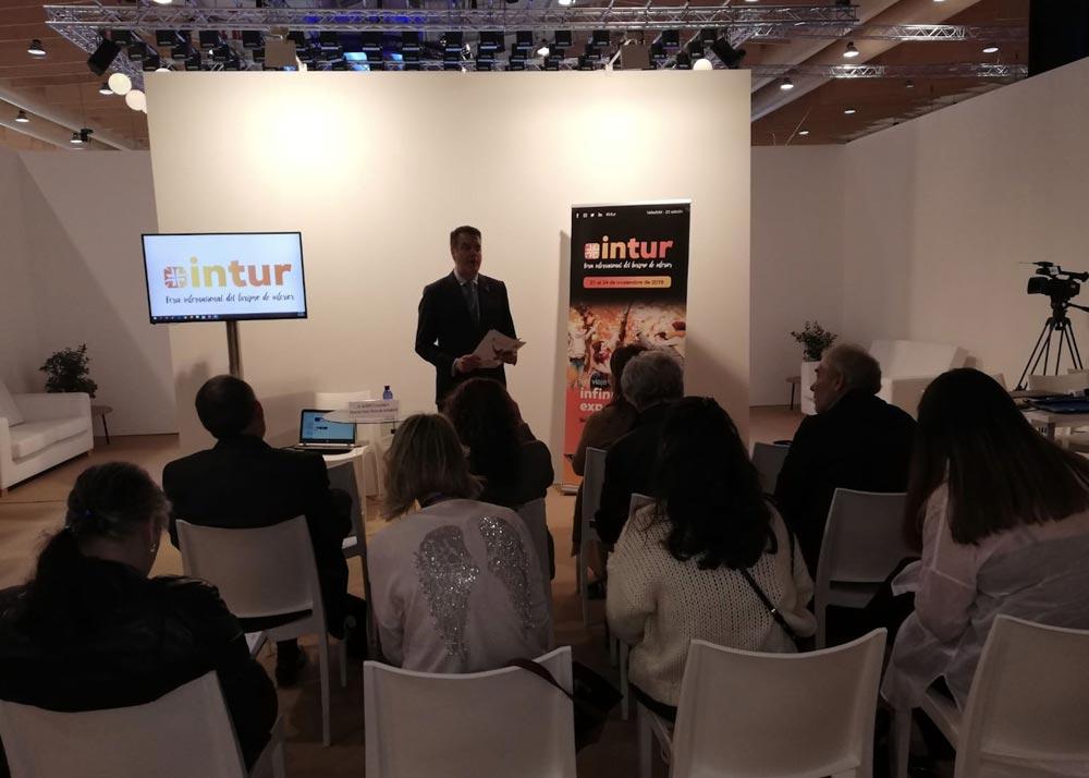 INTUR presenta en la BTL de Lisboa los contenidos de su próxima edición