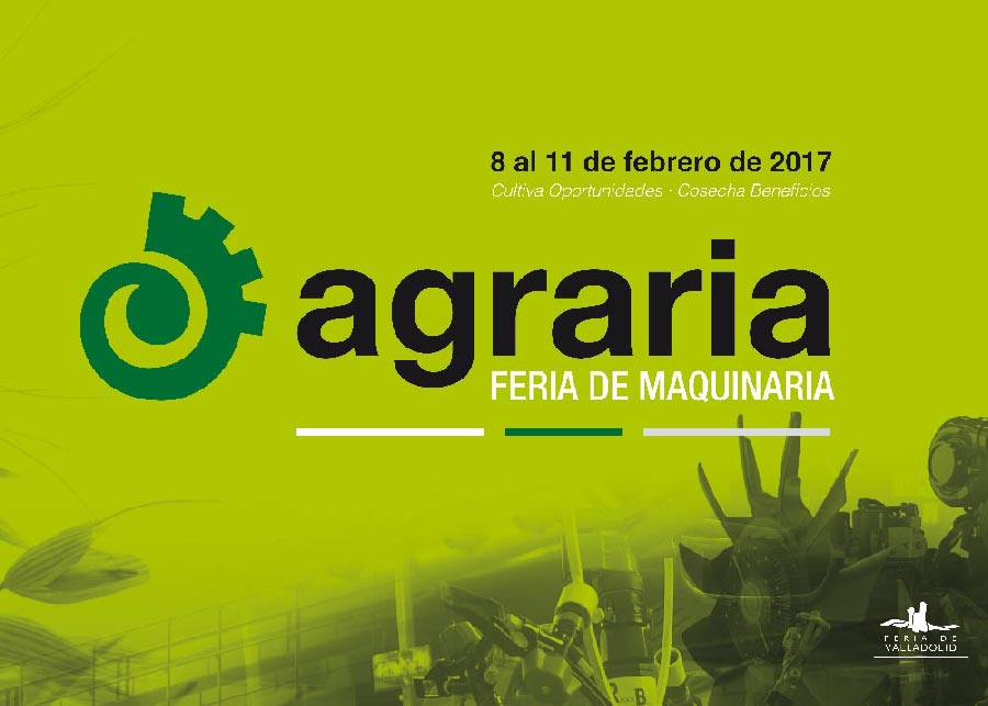 Agraria celebrará su quinta edición del 8 al 11 de febrero de 2017