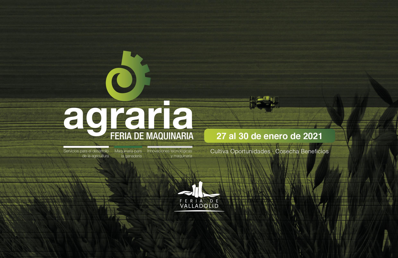 Destacadas empresas de maquinaria y servicios han confirmado ya su participación en Agraria 2021
